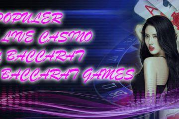 Salah Satu Permainan Terpopuler Lain Judi Online Live Casino